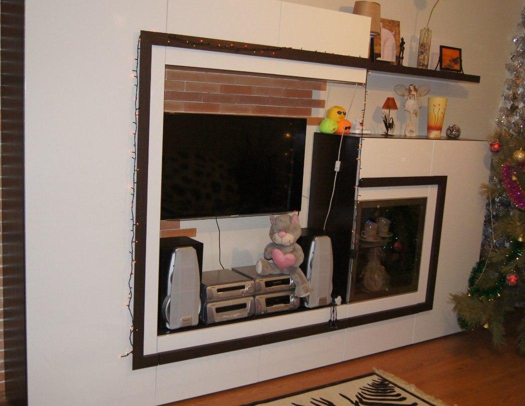 Гостиные-Стенка в гостиную «Модель 3»-фото1