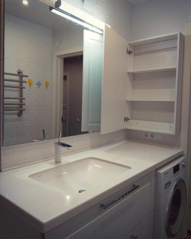 Мебель для ванной комнаты-Мебель для ванной «Модель 36»-фото1