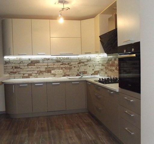 -Кухня из пластика «Модель 399»-фото26