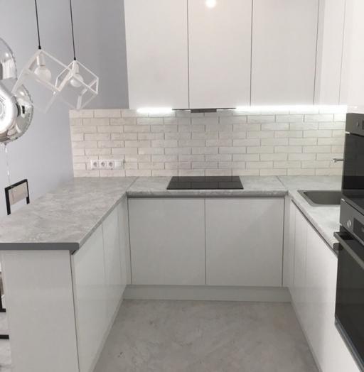 -Кухня МДФ в эмали «Модель 431»-фото8