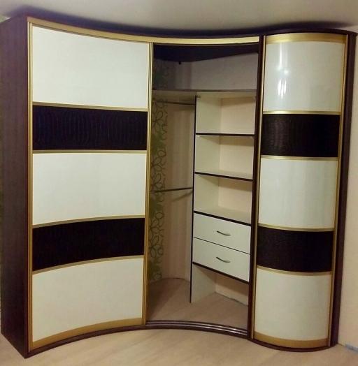 -Радиусный шкаф-купе «Модель 236»-фото4