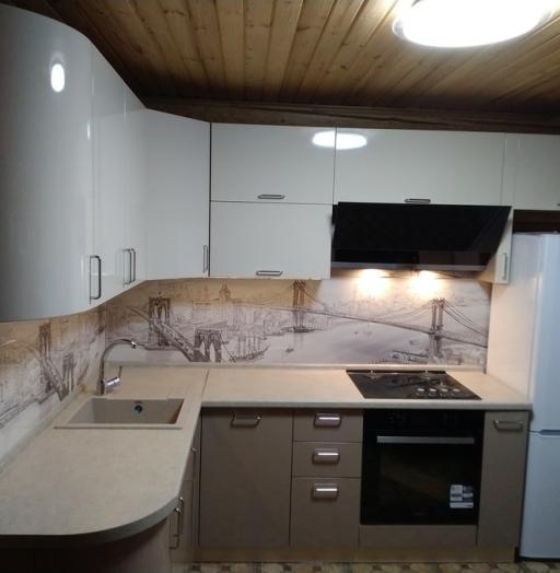 -Кухня МДФ в ПВХ «Модель 38»-фото15