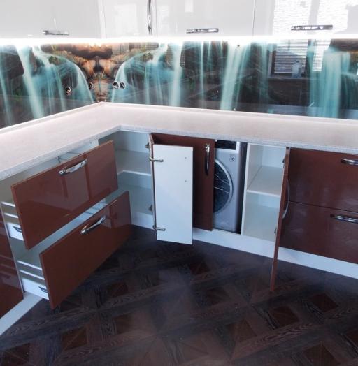 -Кухня из шпона «Модель 14»-фото13