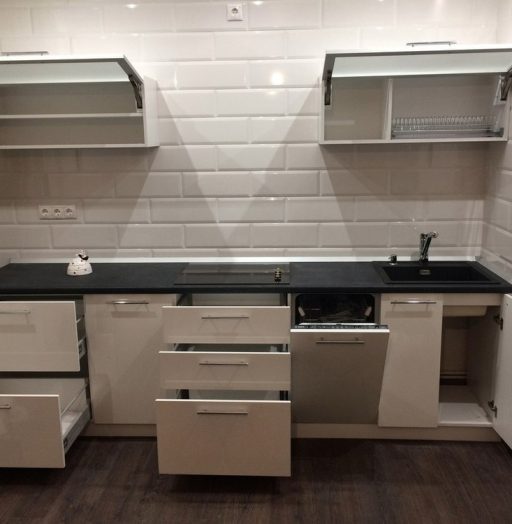 -Кухня МДФ в ПВХ «Модель 158»-фото25