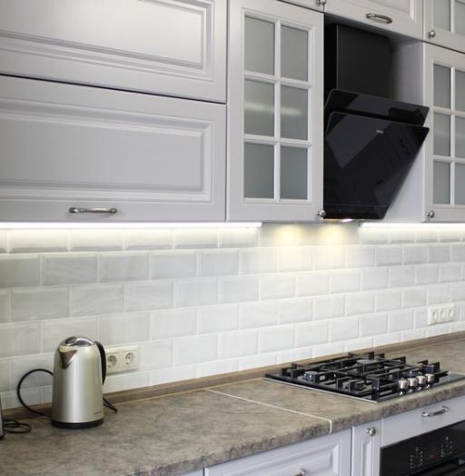 -Кухня МДФ в ПВХ «Модель 183»-фото2