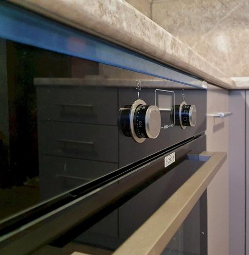Бежевые кухни-Кухня МДФ в ПВХ «Модель 558»-фото7