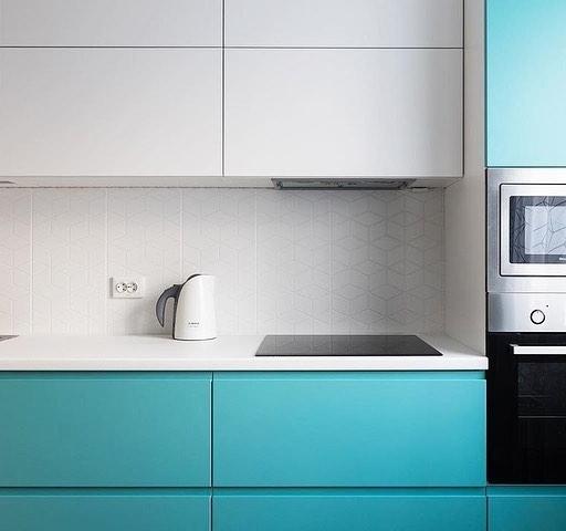 -Кухня МДФ в эмали «Модель 584»-фото19